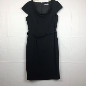 Calvin Klein Black size 8 Sheath Dress in Women